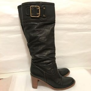 Coach Signature Leather Boots Merridth.